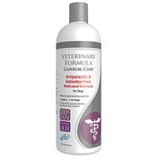 Veterinary Formula АНТИПАРАЗИТАРНЫЙ И АНТИСЕБОРЕЙНЫЙ шампунь для собак и кошек (0,473 л)