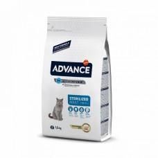 Advance Cat Sterilized Turkey & Barley для стерилизованных котов и кошек