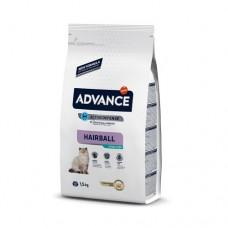 Advance Cat Sterilized Hairball для выведения шерсти