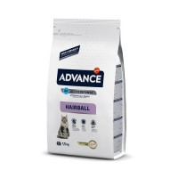 Advance Cat Hairball Turkey & Rice для виведення шерсті, 1,5кг
