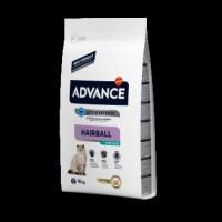 Advance Cat Sterilized Hairball для выведения шерсти у стерилизованных котов с индюшкой