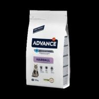 Advance Cat Hairball для выведения шерсти у взрослых котов с индюшкой