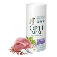 Optimeal сухой корм для собак мелких пород с уткой, 650гр.