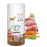 Optimeal сухой корм для собак всех пород беззерновой с индейкой и овощами, 650гр.