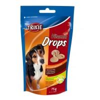 Витамины для собак Дропсы 75 гр бекон