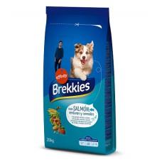Brekkies Dog Salmon & Vegetables для всех пород