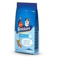 Brekkies Dog Junior для щенков с курицей
