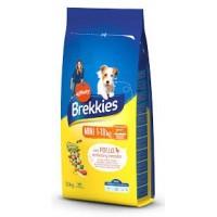 Brekkies Dog Mini для взрослых собак мелких пород с курицей