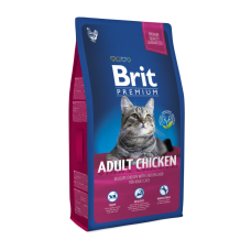 Brit Premium Cat Adult Chicken 8kg (д/взрослых с курицей)