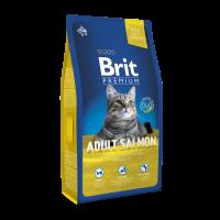 Brit Premium Cat Adult Salmon 8 kg (д/взрослых с лососем)