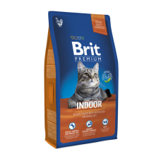 Brit Premium Cat Indoor 8 kg (д/ кошек, живущих в помещении)