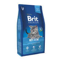 Brit Premium Cat Kitten 8 kg (д/котят 1-12 мес)