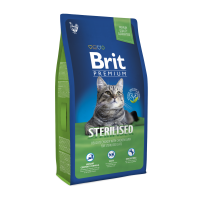 Brit Premium Cat Sterilized 8 kg (д/стерилизованных кошек)