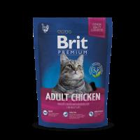 Brit Premium Cat Adult Chicken  300g (д/взрослых с курицей)