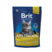 Brit Premium Cat Adult Salmon  1,5 kg (д/взрослых с лососем)