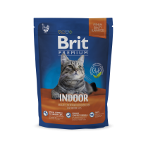 Brit Premium Cat Indoor 1,5 kg (д/ кошек, живущих в помещении)