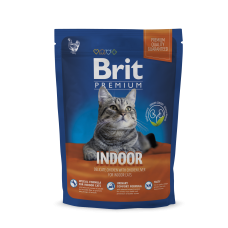 Brit Premium Cat Indoor 800 g (д/ кошек, живущих в помещении)