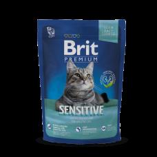 Brit Premium Cat Sensitive 300g (д/ кошек c чувствительным пищеварением)
