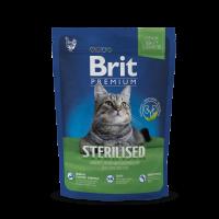 Brit Premium Cat Sterilized  300g (д/стерилизованных кошек)