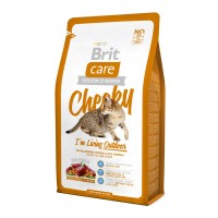 Brit Care Cat 0,4 kg Cheeky I am Living Outdoor