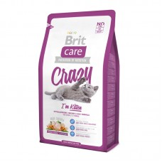 Brit Care Cat 2 kg Crazy I am Kitten