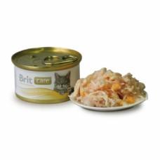 Brit Care Cat k 80g  куриная грудка и сыр
