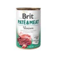 Brit Paté & Meat Dog k 400 g с олениной