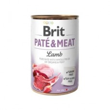 Brit Paté & Meat Dog k 400 g с ягненком