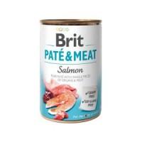 Brit Paté & Meat Dog k 400 g с лососем