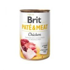 Brit Paté & Meat Dog k 400 g с курицей