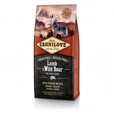 Carnilove Lamb & Wild Boar 12 kg