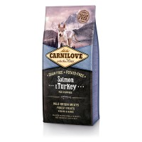 Carnilove Salmon & Turkey Large Breed Puppy 12 kg
