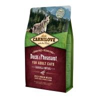 Carnilove Cat Hairball Controll 2 kg утка,фазан (д/выведения шерстяных комочков)