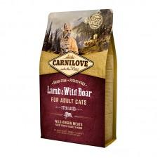 Carnilove Cat Sterilised 2 kg ягненок,дикий кабан (д/стерилизованных)