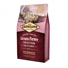Carnilove Cat Kitten 2 kg лосось,индейка (д/котят)