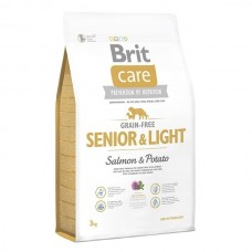 Brit  Care GF Senior & Light Salmon & Potato 3 kg (д/пожилых всех пород)