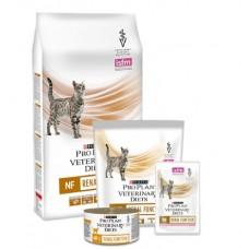 Pro Plan VETERINARY DIETS NF (Renal Function - Консервированный корм для взрослых и пожилых кошек  с почечной недостаточностью), 195гр