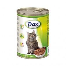 DAX банка 415гр. для котов кролик