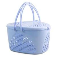 Переноска пикник голубая