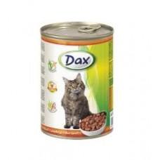 DAX банка 415гр. для котов курица
