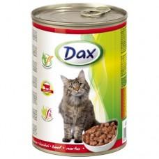 DAX банка 415гр. для котов говядина