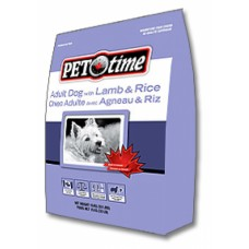 PET TIME Lamb&Rice Adult dog food