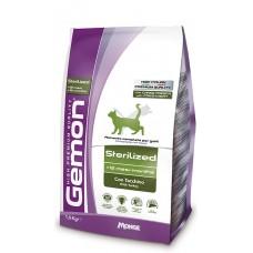 Gemon CAT Sterilized c индейкой 1.5kg