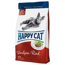 Happy Cat Supreme Adult Альпийская говядина 4кг