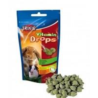 Витамины для грызунов Trixie Drops с овощами 75 гр (6022)