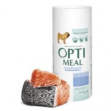 Optimeal сухой корм для собак средних пород гипоаллергенный с лососем, 650гр.