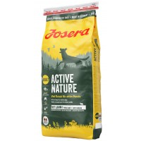 Josera Active Nature (Актив нейче) сухой корм для активных собак с ягненком, 15кг