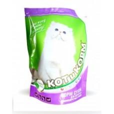 Белкорм КОТиКОРМ для взрослых длинношерстых котов, мешок 10кг