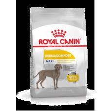 Royal Canin Maxi Dermacomfort (сухой корм для взрослых и стареющих собак крупных размеров (весом от 26 до 44 кг) в возрасте 15 месяцев и старше, склонных к кожным раздражениям и зуду), 10кг