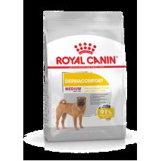 Royal Canin Medium Dermacomfort (сухой корм для собак средних размеров, склонных к кожным раздражениям и зуду), 10кг